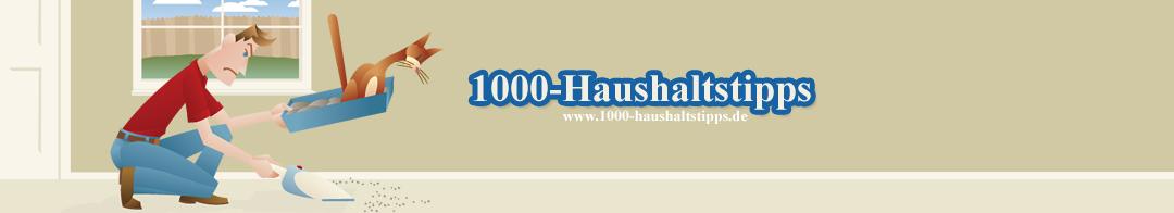 1000-Haushaltstipps