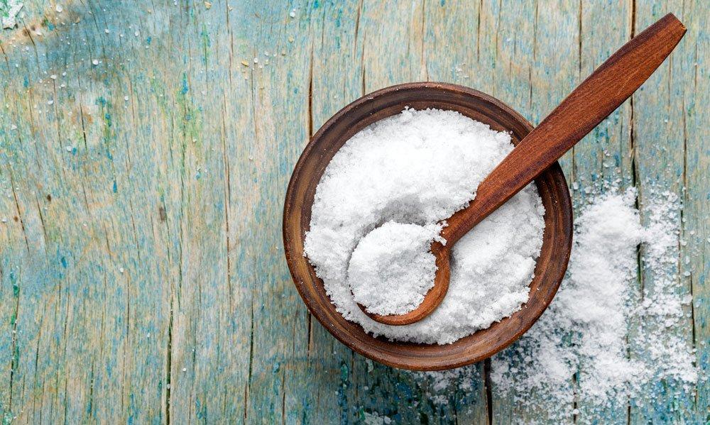Abfluss stinkt Salz