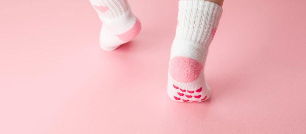Anti-Rutsch-Socken selber machen