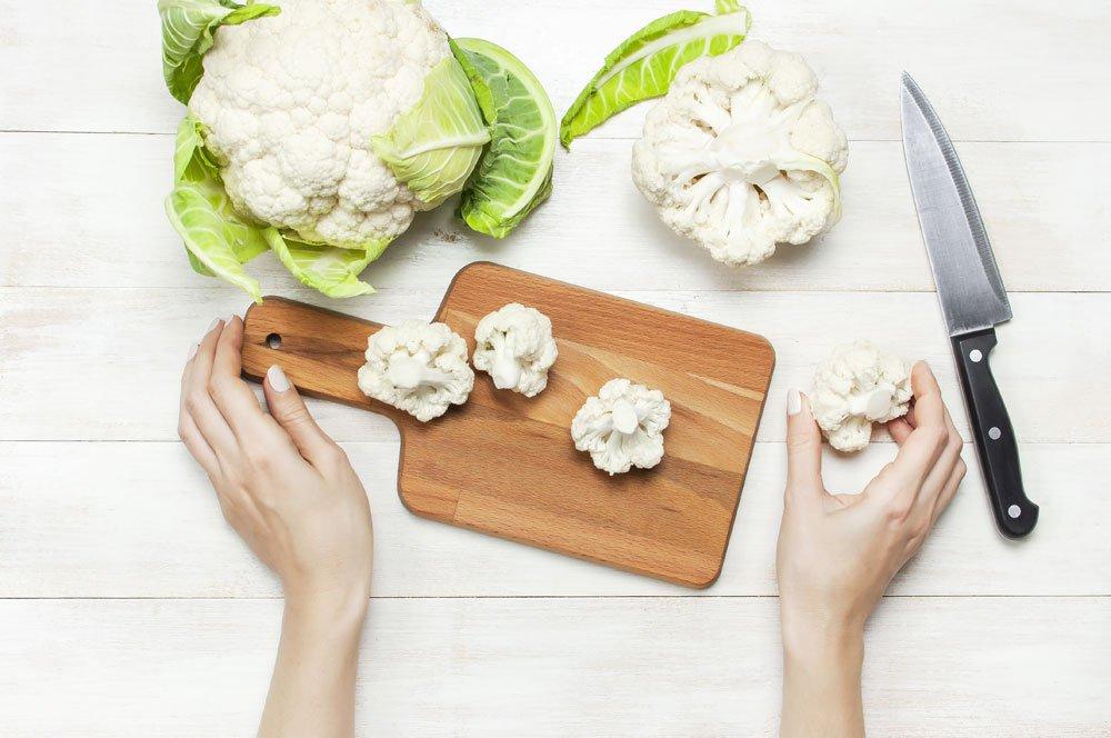 Blumenkohl kochen, blanchieren oder braten 1