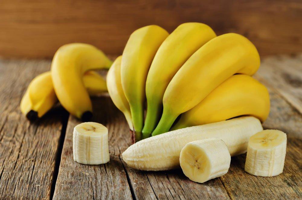blutdrucksenkende Lebensmittel - Bananen