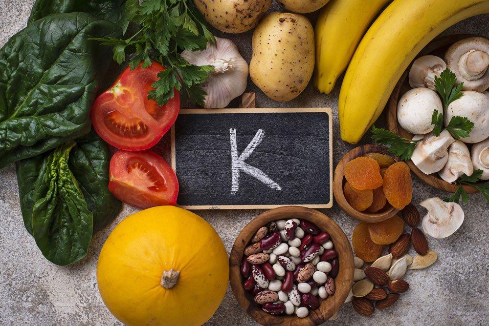 blutdrucksenkende Lebensmittel - Kalium