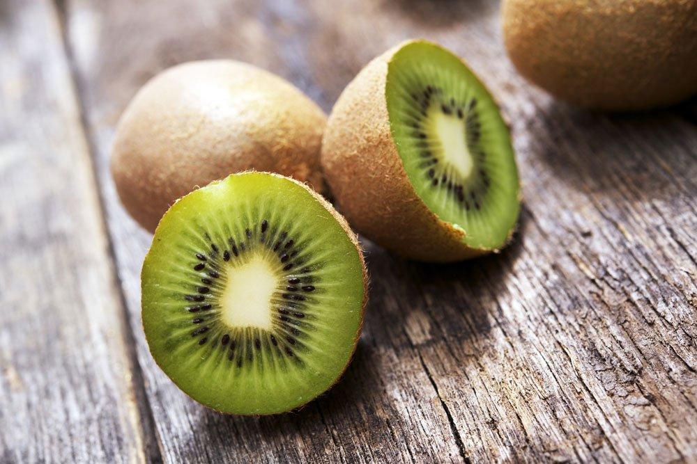 blutdrucksenkende Lebensmittel - Kiwi