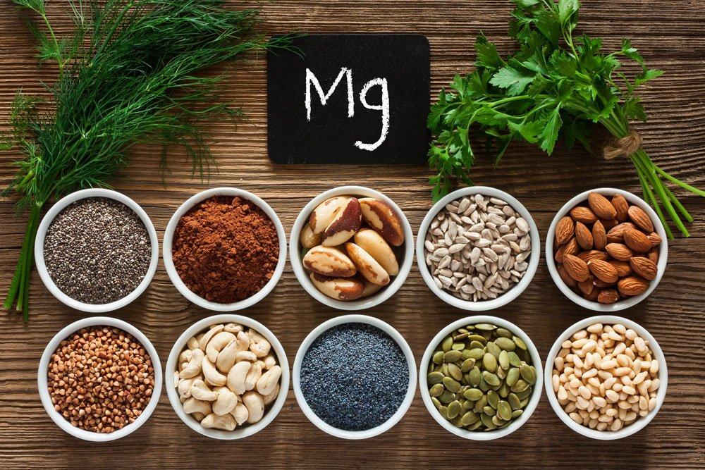 Blutdrucksenkende Lebensmittel - Magnesium