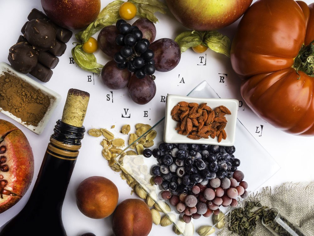 blutdrucksenkende Lebensmittel - Resveratrol