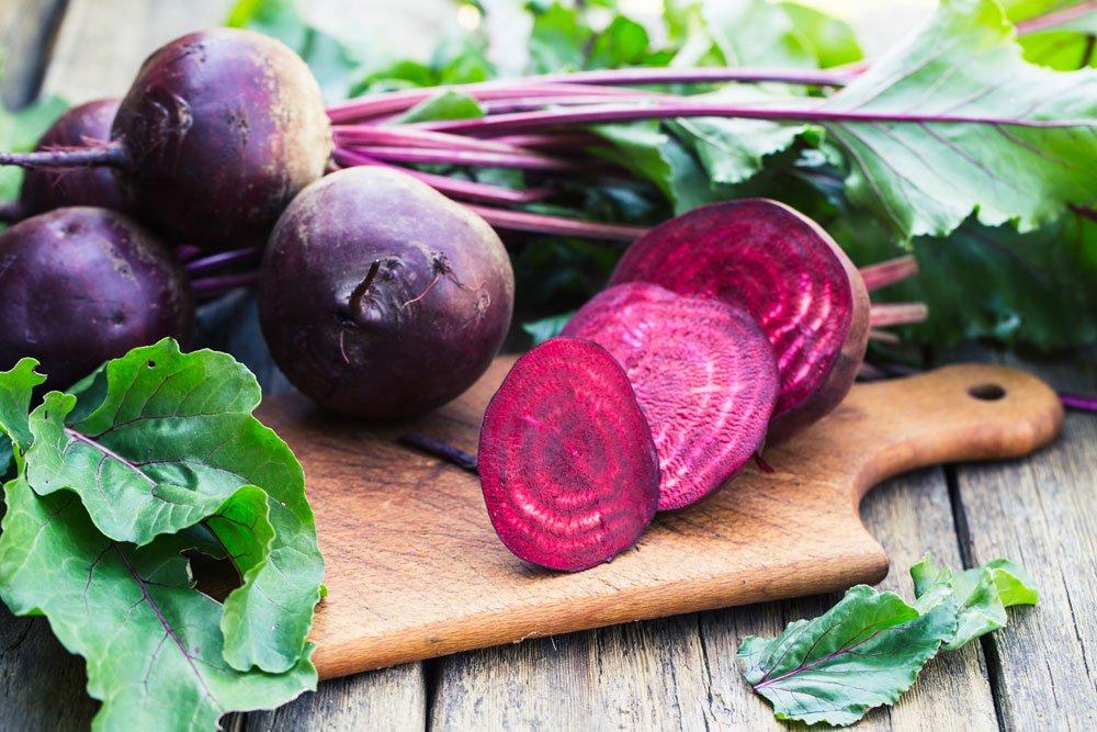 blutdrucksenkende Lebensmittel - Rote Beete