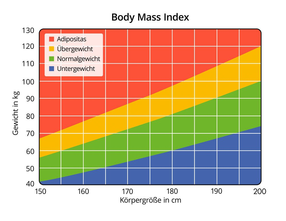 Body Mass Index Übersicht
