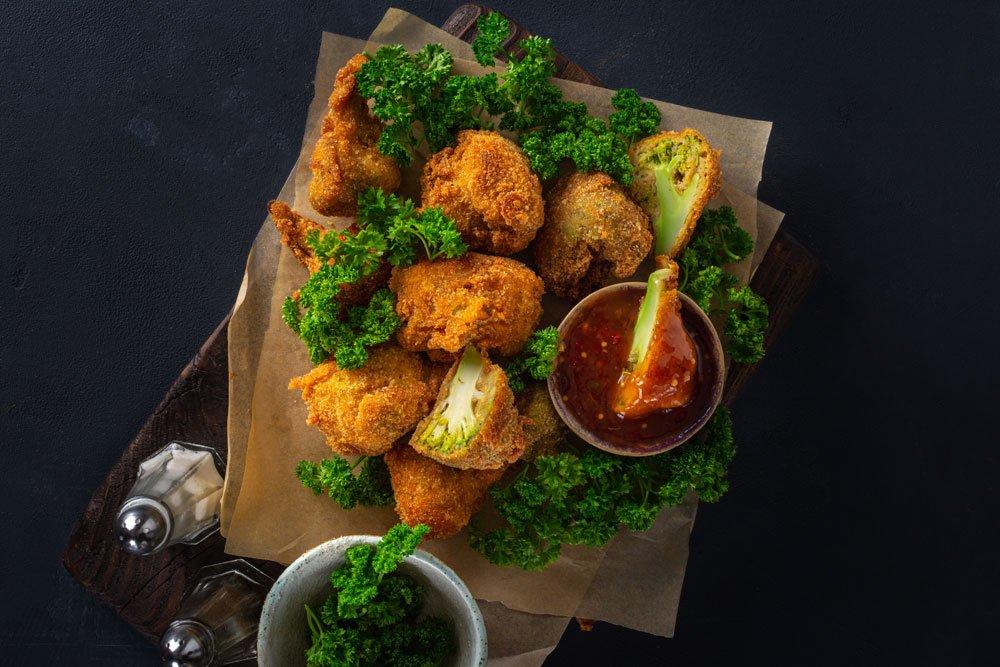 Brokkoli-Nuggets
