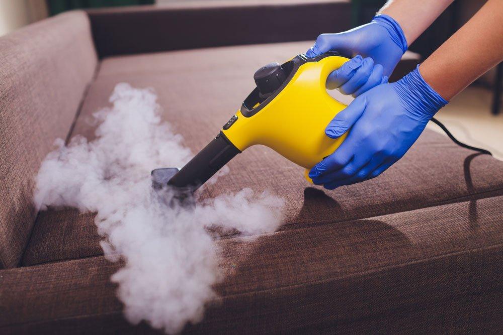 Couch reinigen Dampfreiniger