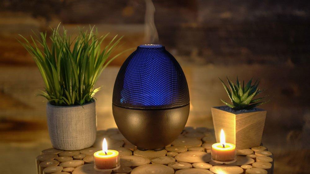 Duft-Diffusor mit Lampe und Musik