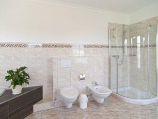 Dusche Bad putzen