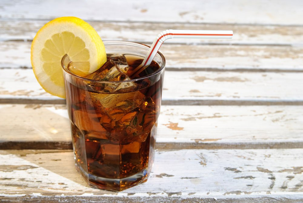 Edelstahl reinigen - Cola