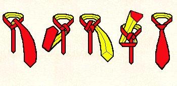 Anleitung für einen Englischen Knoten
