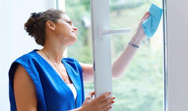 fenster putzen ohne streifen tipps schlieren