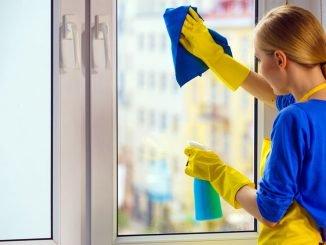 Fenster streifenfrei putzen