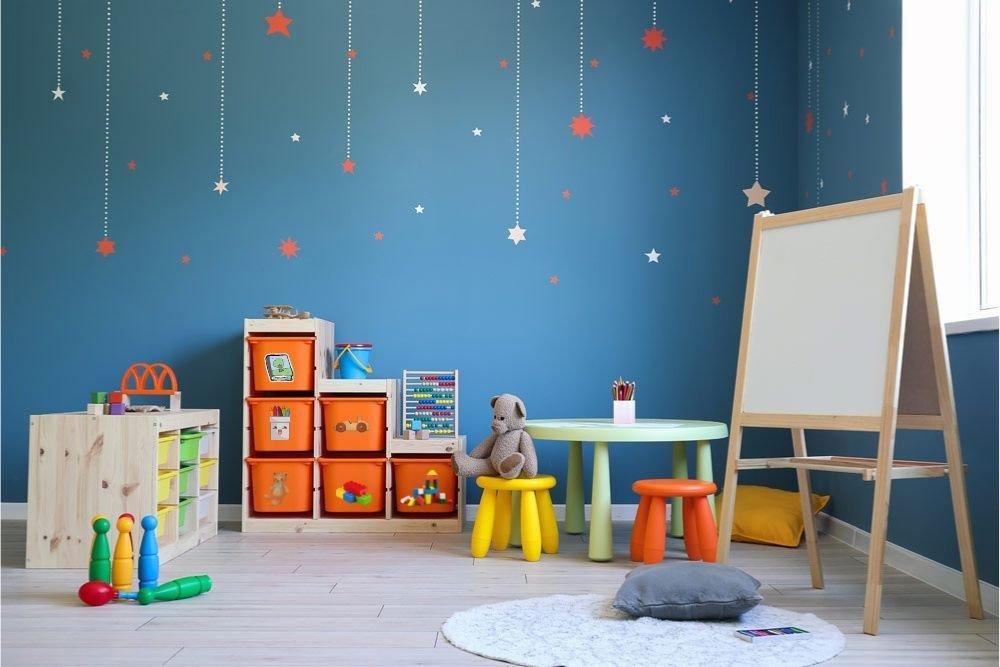 festen Platz für Spielzeug festlegen