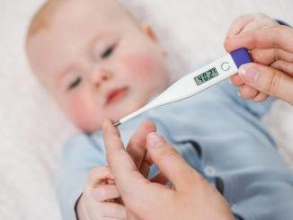 Fieber messen beim Baby