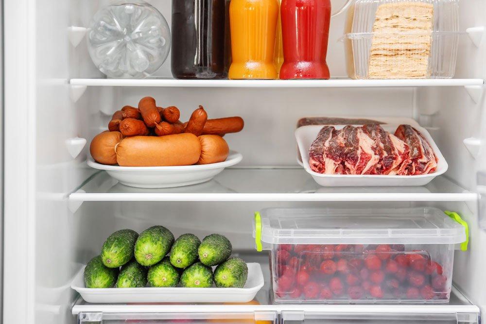 Fleisch im Kühlschrank auftauen