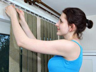 Gardinen aufhängen