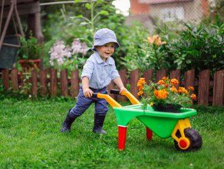 Garten kindersicher machen
