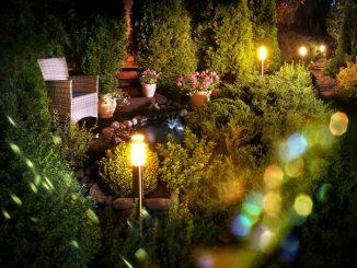 Gartengestaltung - Beleuchtung