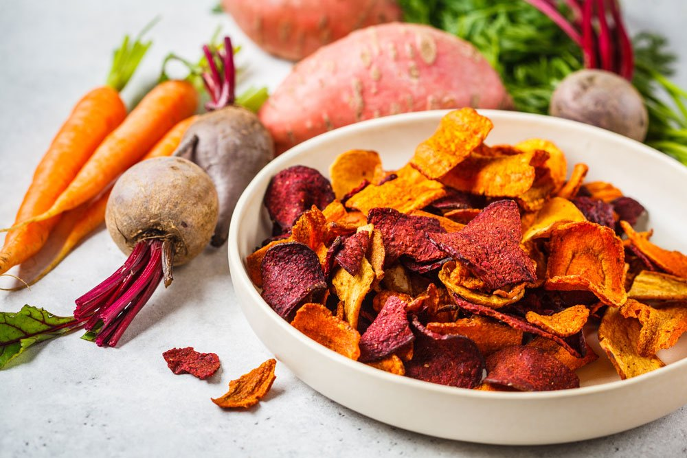 Gemüsechups aus Rübengemüse