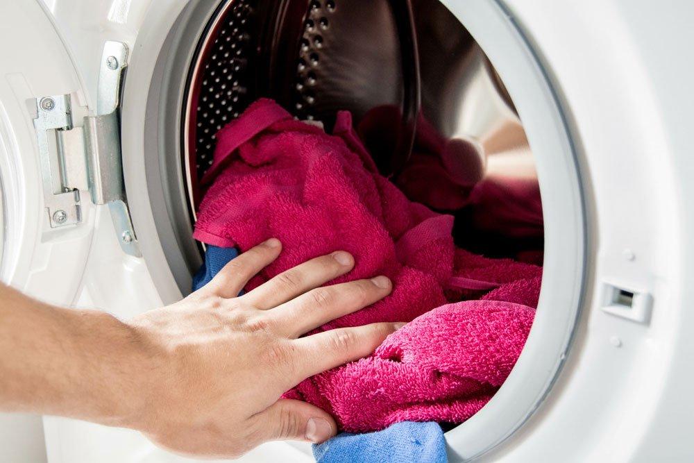 Handtücher wechseln