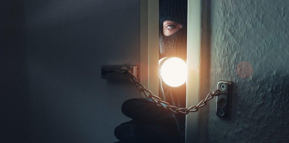 Haus absichern gegen Einbrecher