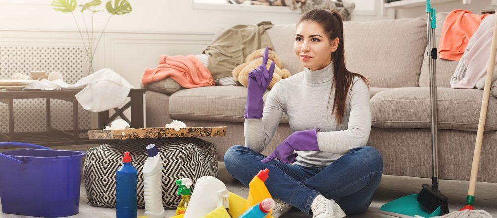 Hausmittel zum Putzen verwenden