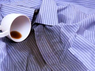 Kaffeeflecken entfernen