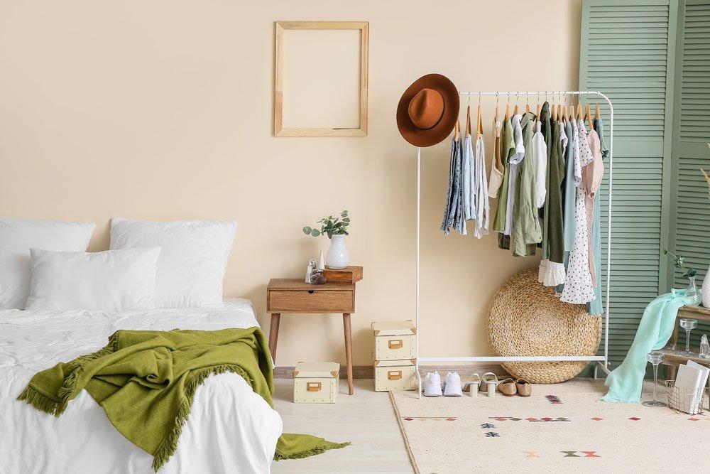 Kleiderschrank und Co. im Gästezimmer