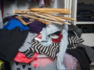 Kleiderschrank optimal ausnutzen