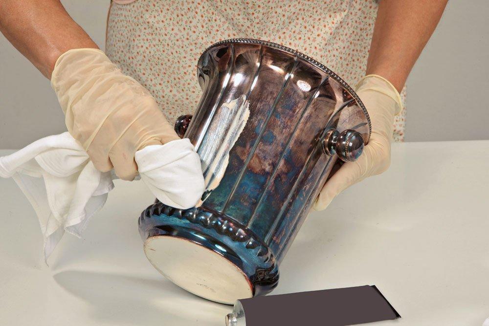 Kratzer aus Brille entfernen - Silberpolitur