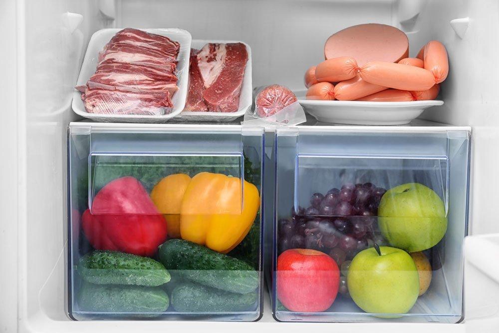 Kühlschrank einräumen
