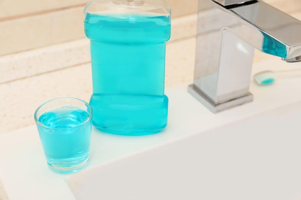 Mundwasser gegen Hornhaut