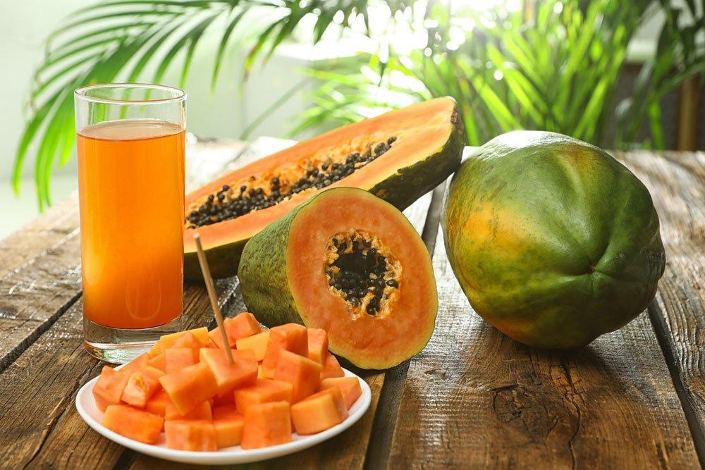 Pigmentflecken entfernen - Papaya