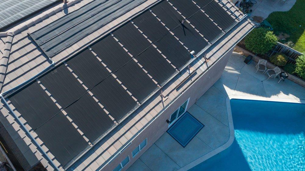 Pool heizen mit Solarenergie