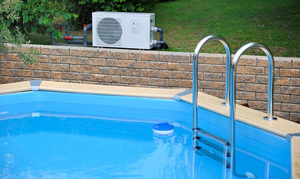 Pool heizen mit einer Wärmepumpe