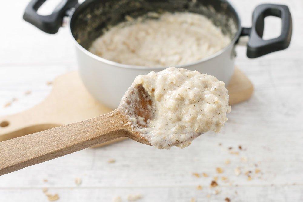 Porridge kochen