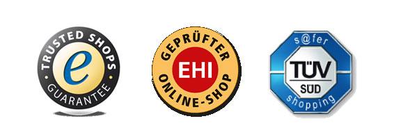 Prüfsiegel Online-Shopping
