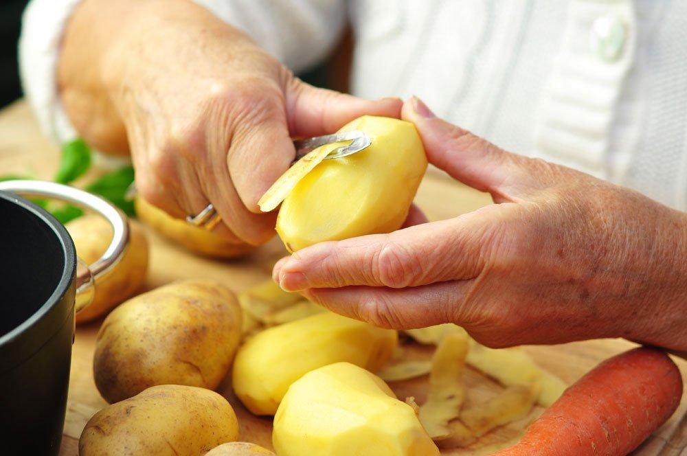 Suppe versalzen Kartoffel