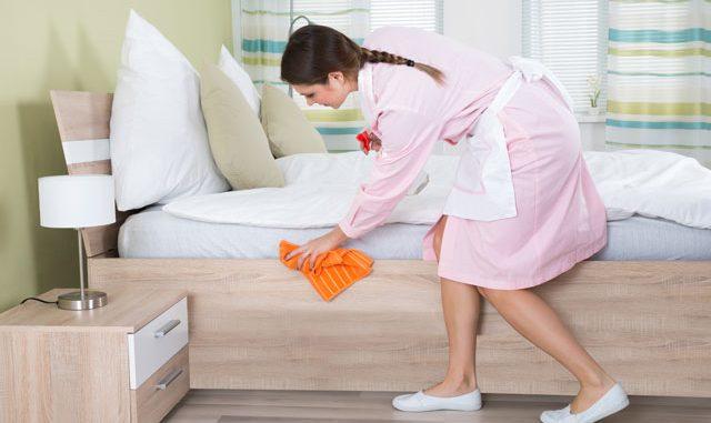 Schlafzimmer putzen Tipps