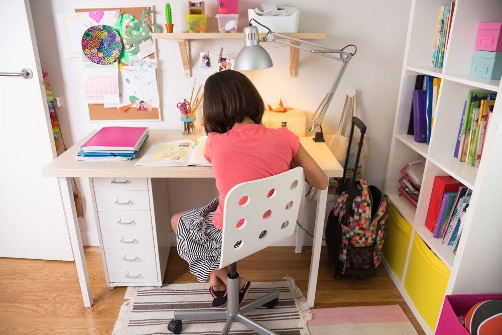 Schreibtisch Beinfreiheit