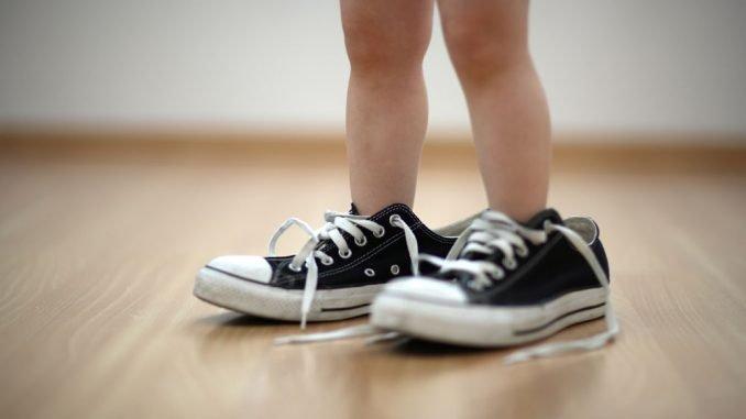 Schuhgröße bei Kindern ermitteln