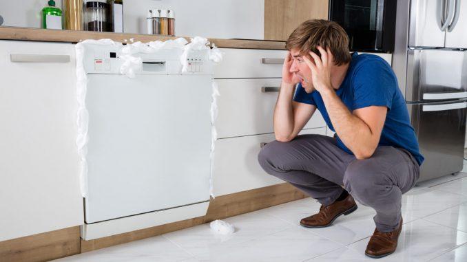 Spülmittel in der Spülmaschine