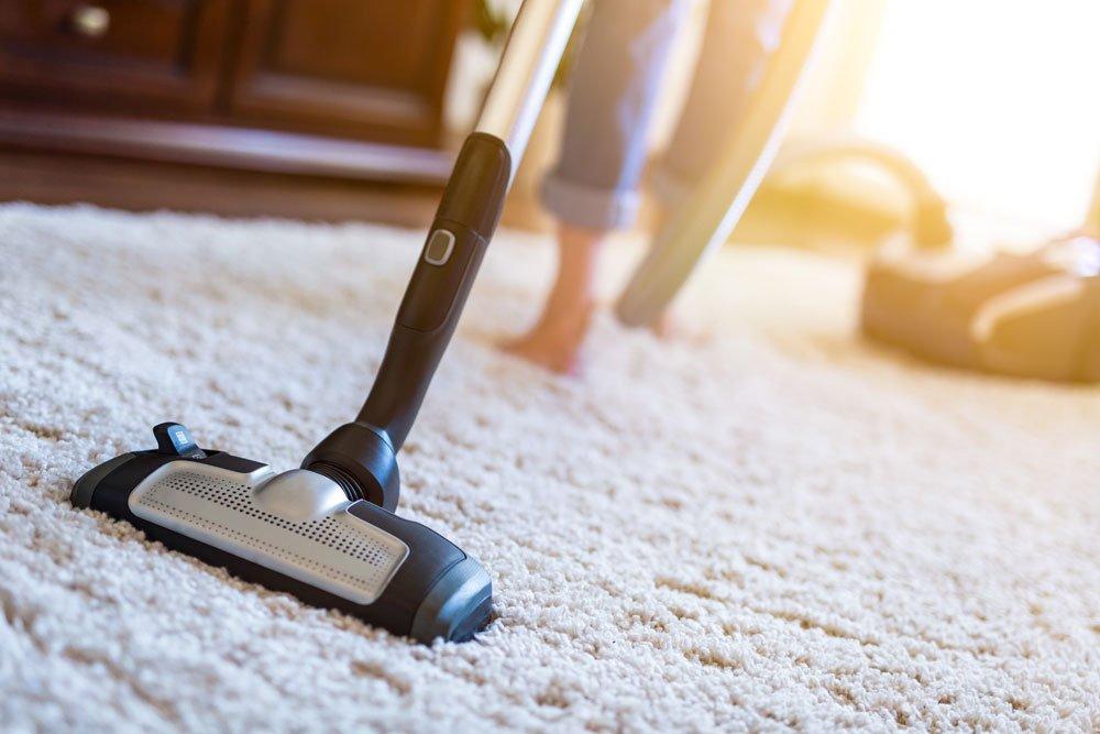Teppiche absaugen