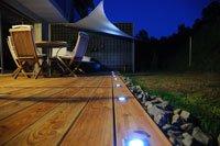 LED-Einbauleuchten im Boden