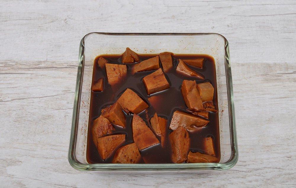 Tofu marinieren