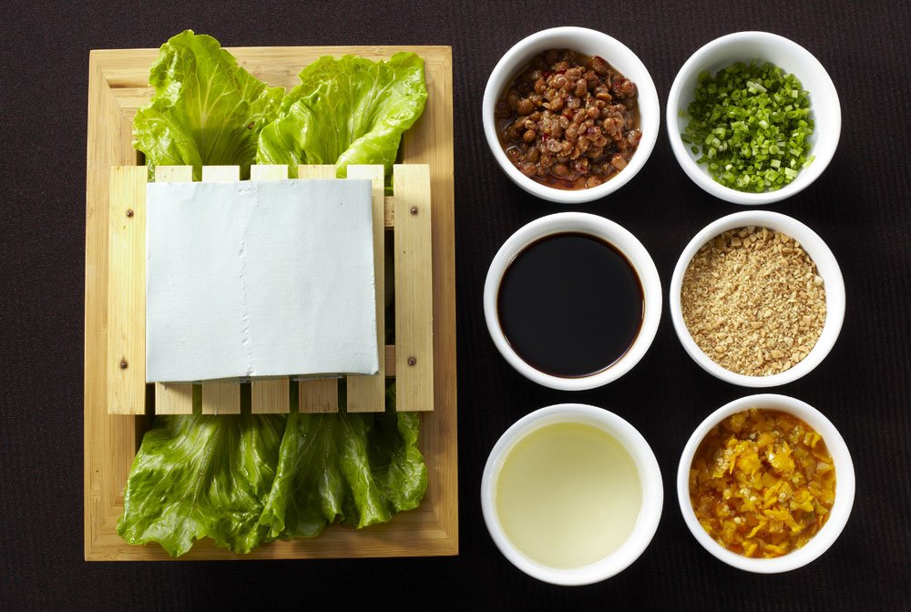 Tofu würzen