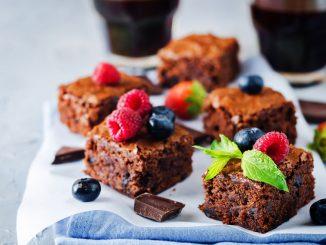 Rezepte für vegane Brownies